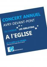 Concert 13 juin à 20 h